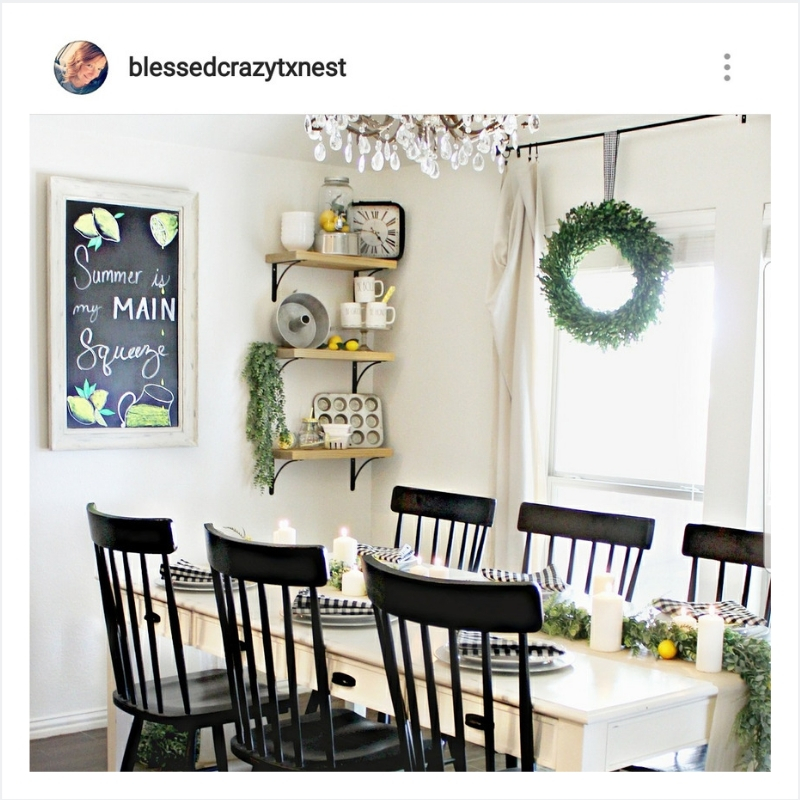 Instagram home decor inspiration