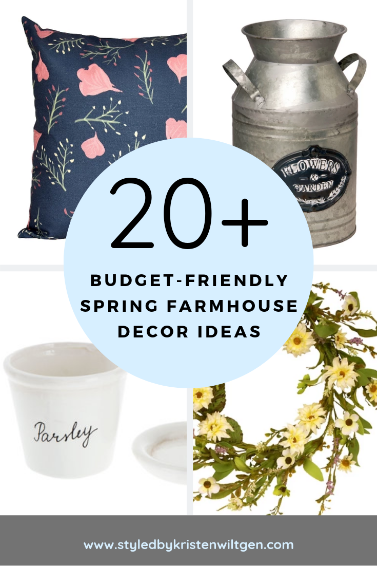 Budget-Friendly Spring Farmhouse Decor Ideas