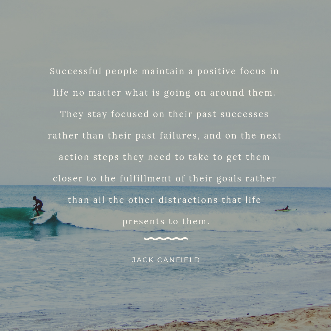 Jack Canfield inspirational quote about success