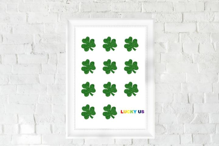 St. Patrick's Day DIY: Framed Art
