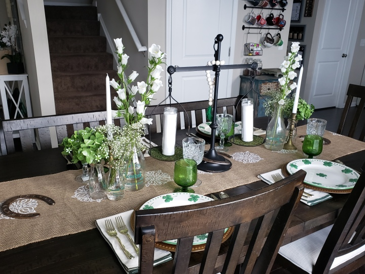 Design Ideas: St. Patrick's Day Tablescape