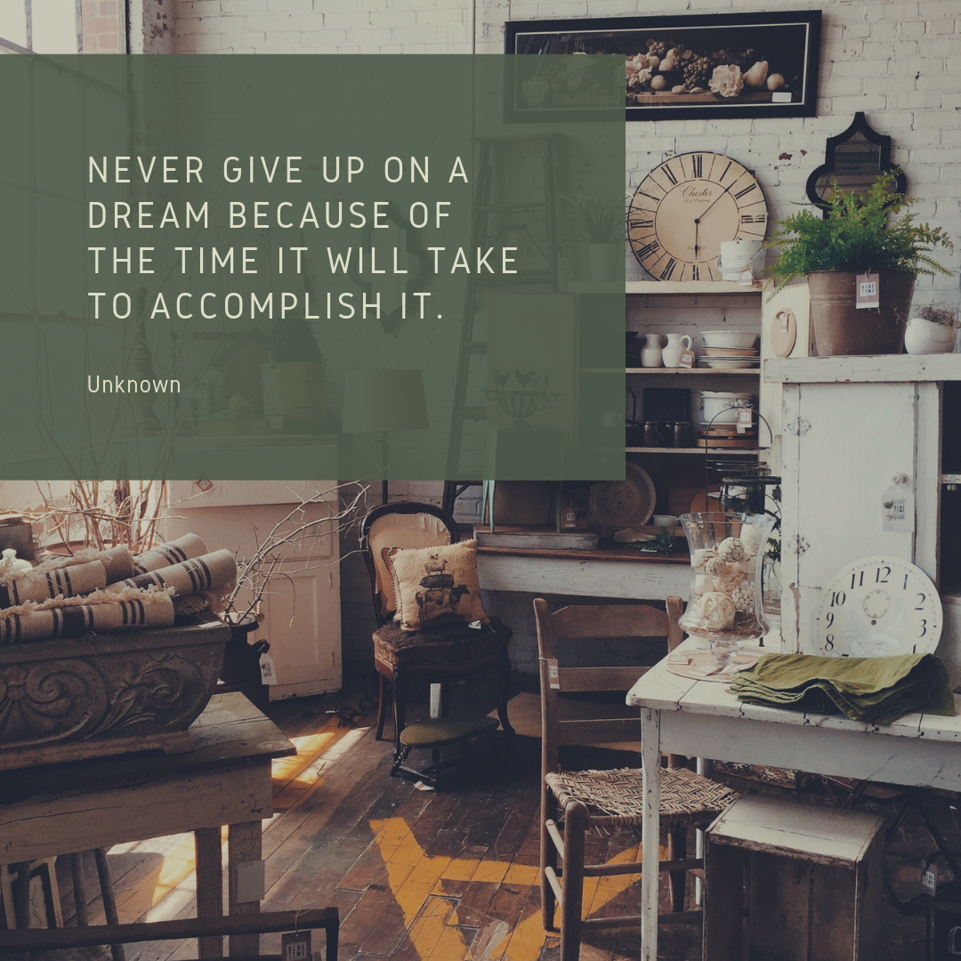 Dream and accomplishment quote