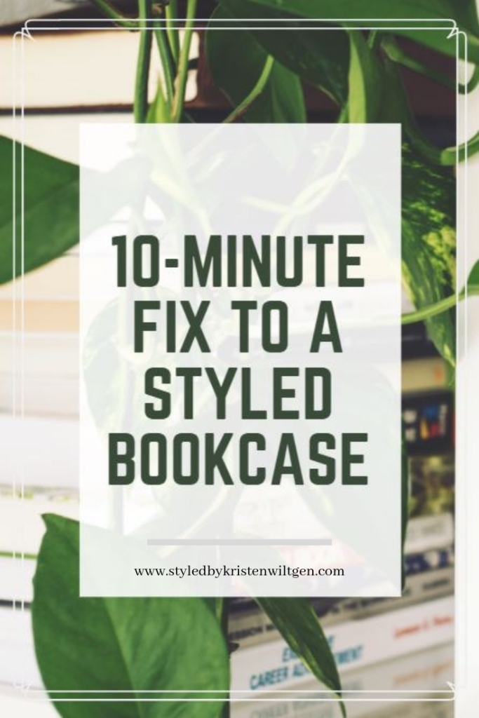 Styled Bookcase Design