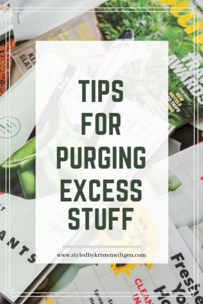 Tips for Purging Excess Stuff