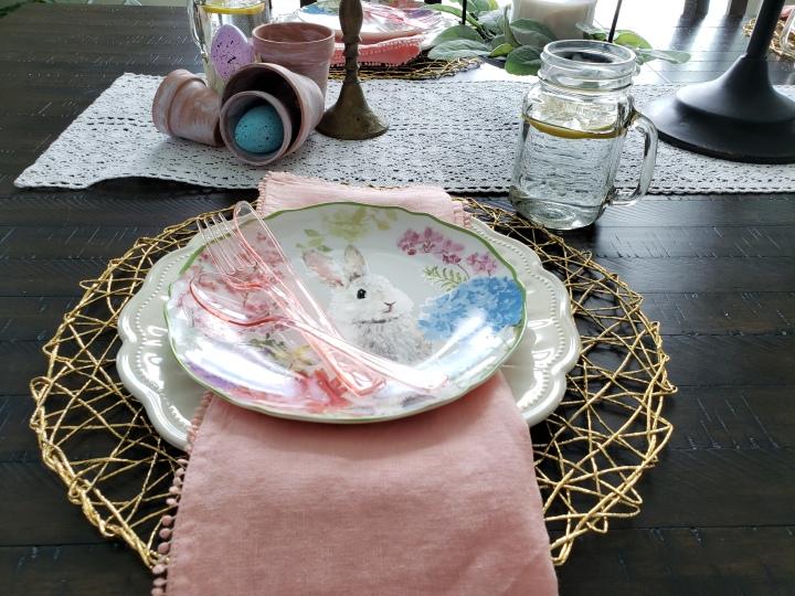Easter Tablescape Home Decor