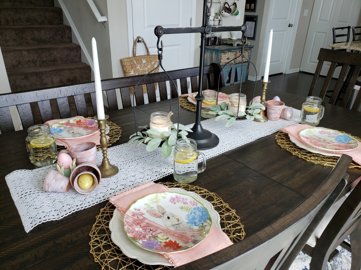 Design Ideas: Easter Tablescape